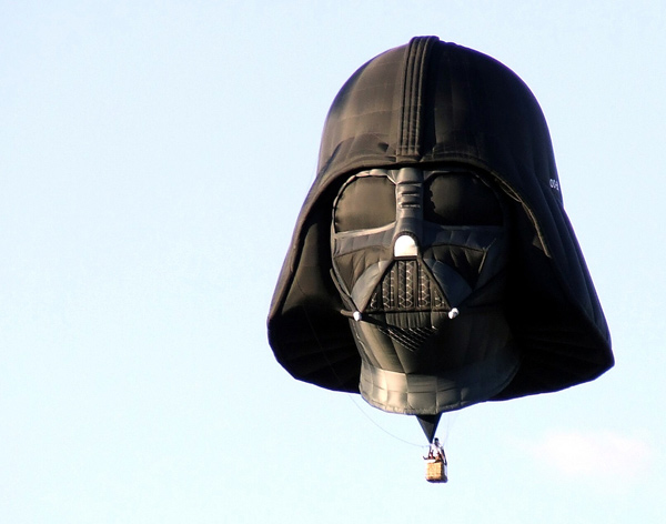 darth vader balloon hot air star wars michael benoit lambert