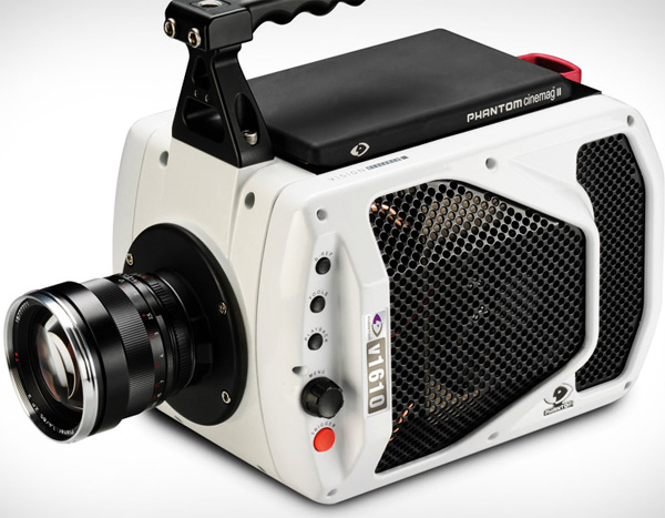 phantom v1610 high speed camera digital one million frames per second