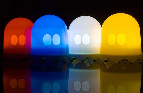 usb brando ghost light lamp pac-man