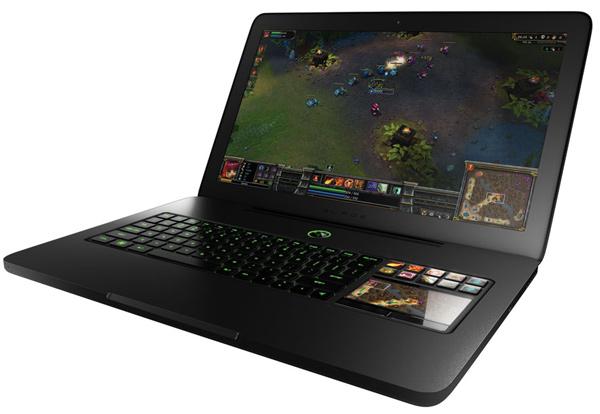 razer blade gaming laptop sleek
