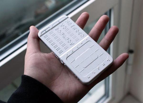 drawbraille phone blind shikun sun concept