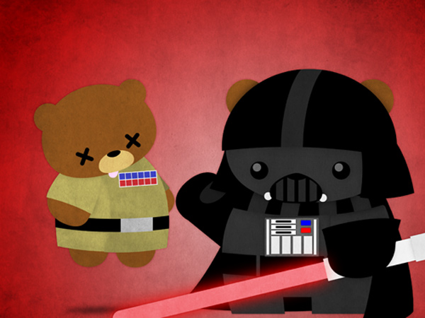cuddly bears darth vader julius santiago superheroes