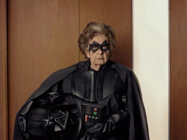 Darth Vader in His Underwear with His Evil Superhero