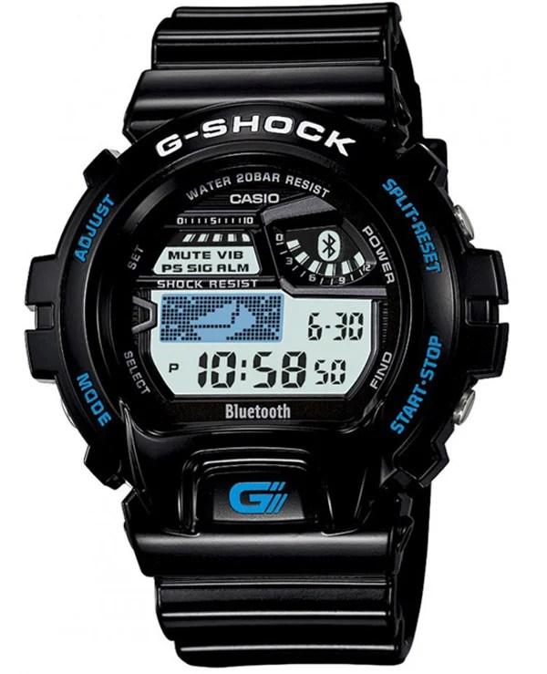 g-shock casio bluetooth smartphone sync
