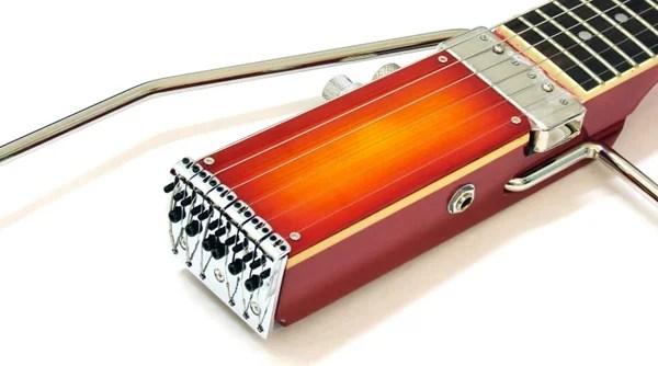 ministar travel guitar musician instrument compact music