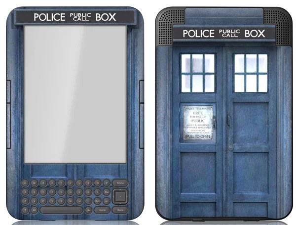 Amazon Kindle TARDIS Doctor Who Cover 01