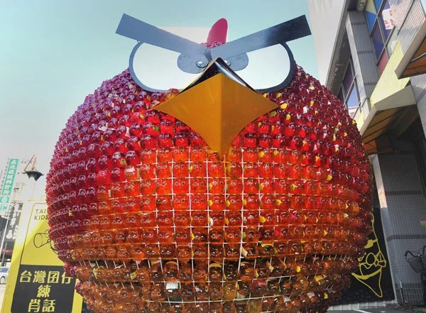 red angry bird taiwan asia