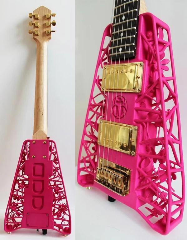 3d printed guitars 3