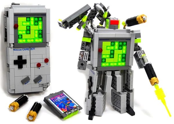 domaster lego brick game boy transformer 01