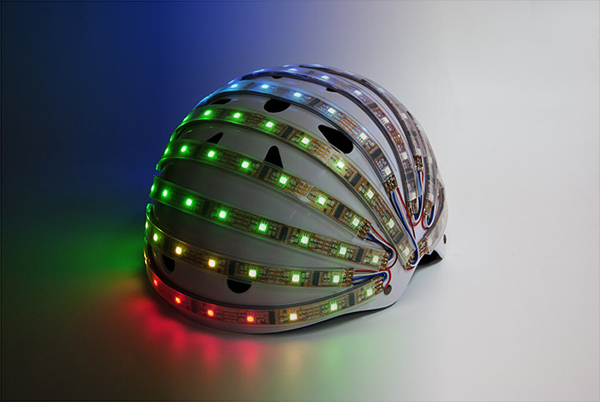 lumahelm smart led helmet bicycle