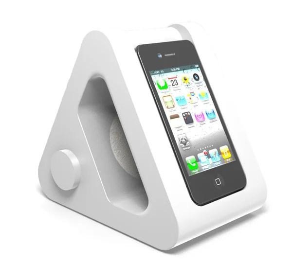 nookone iphone dock bedside