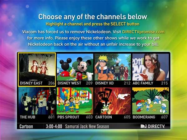DirecTV and Viacom Finally Come to an Agreement Nick Returns