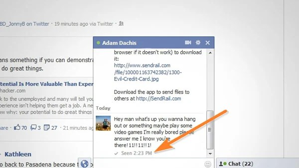 chat undecteted lifehacker facebook block
