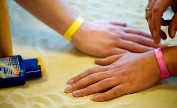uv sensing wristband intellego sweden
