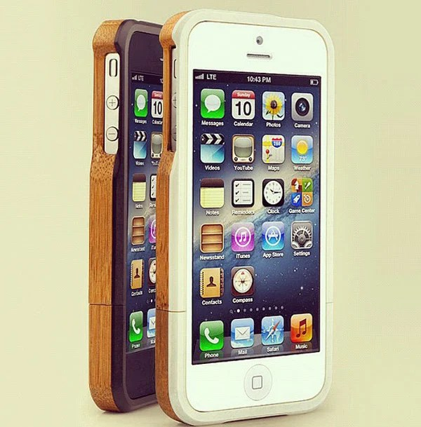 grove case iphone wood handmade front