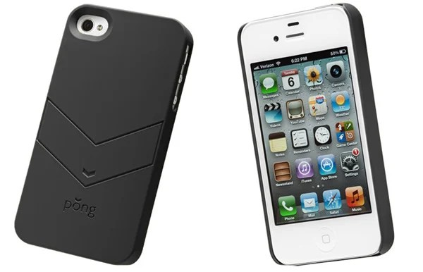 pong soft touch iphone radiation case