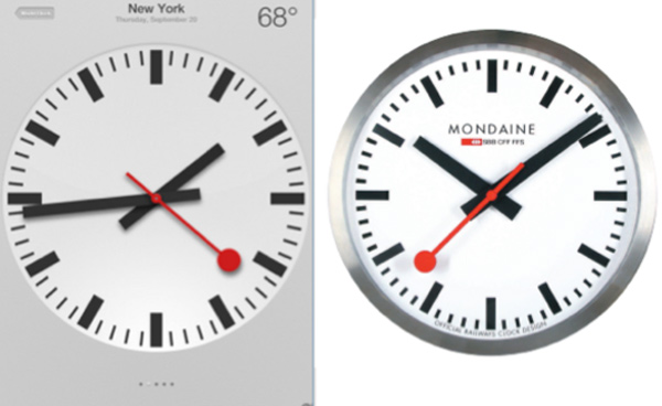 apple clock copy