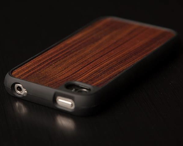 design skinz walnut case iphone