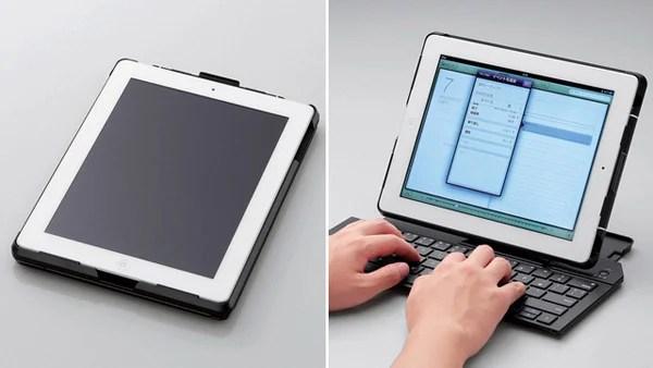 elecom ipad keyboard case