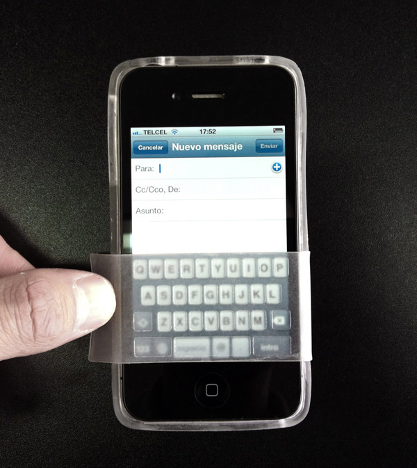 fliptype keyboard iphone case