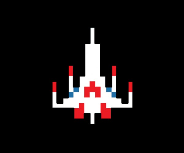Galaga Fighter Model Kit From 8Bit to Real Bits  Technabob