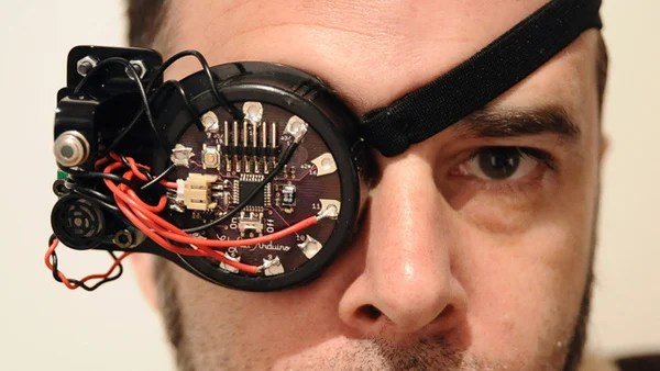 space cyborg pirate google glass