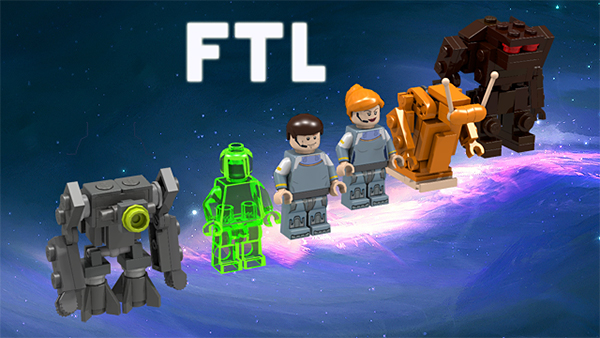FTL Faster Than Light LEGO Set Proposal Must Not Be