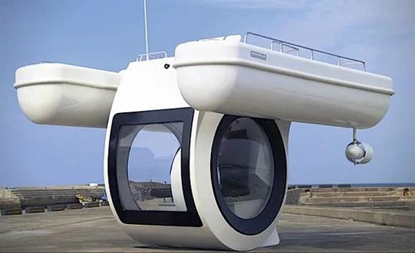 roanhaje ego personal semi submarine boat