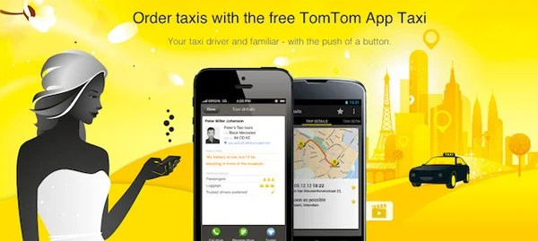 tomtom taxi app