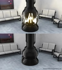 Darth Vader Meditation Chamber Fireplace, the Force is