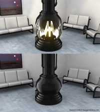 Darth Vader Meditation Chamber Fireplace, the Force is ...