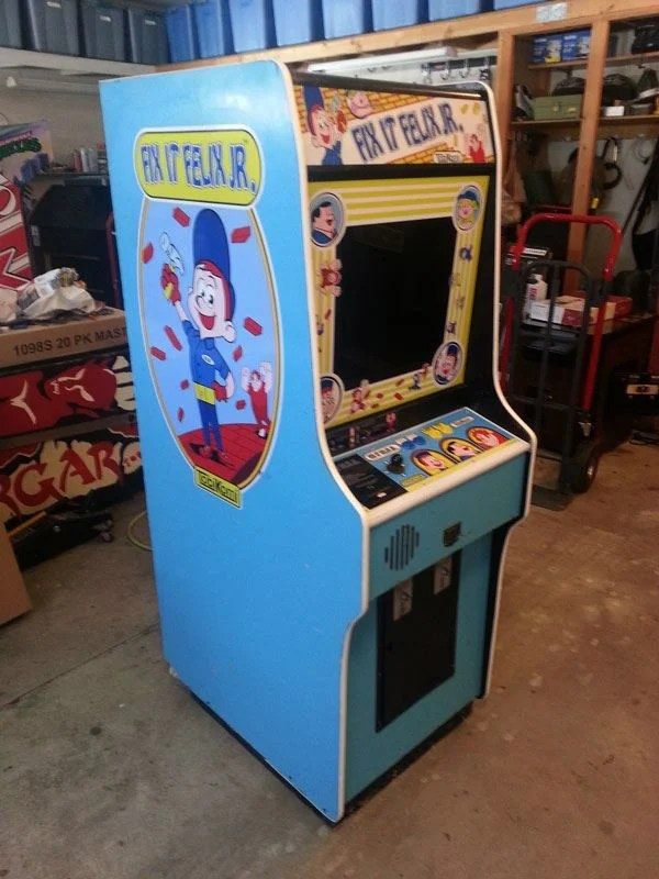 Actual Fix it Felix Machine Headed to Midwest Gaming Classic
