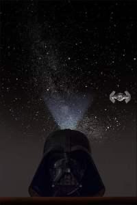 Darth Vader Homestar Projector: The Light Side of the Dark