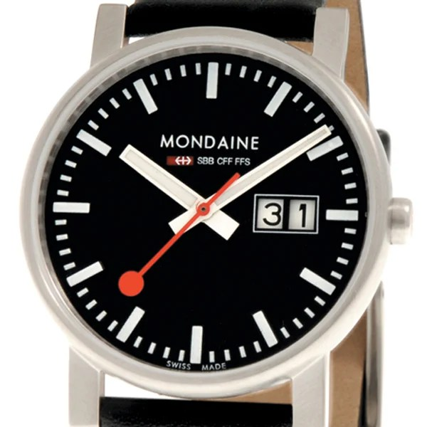 mondaine evo swiss railway watch