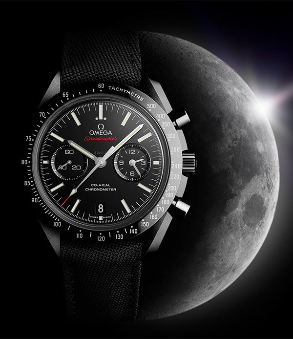 omega dark side moon watch 1