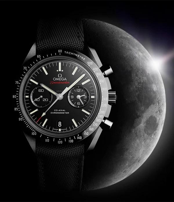 omega dark side moon watch 1