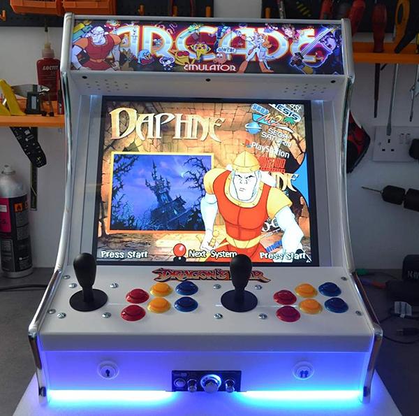 Tabletop Arcade Machines HalfCabinet HalfAmazing