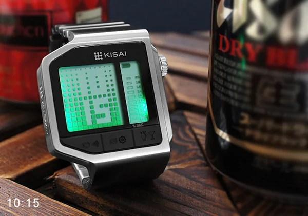 tokyoflash intoxicated kisai breathalyzer watch