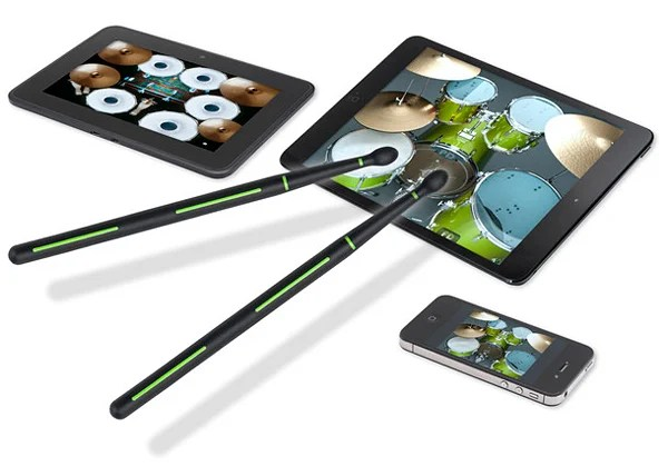 drummerz touchscreen drum sticks