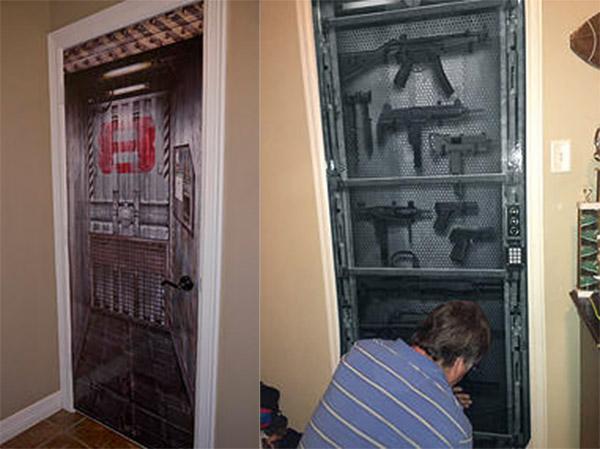 MetalCore Vinyl Door Decals Hack To Open Technabob
