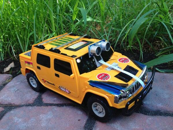 robotech supercar rc car remote drone