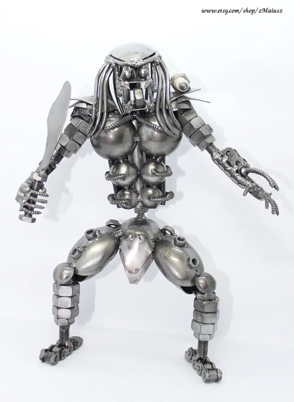 Scrap Metal Predator Scrap Metal Aliens Don T Stand A Chance