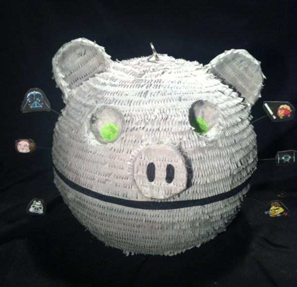 Angry Birds Death Star Piata Little Piggy Blew