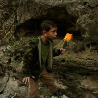 Wall Torch Sconce Turns Anyone into Indiana Jones, Cave
