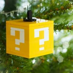 Diy Adirondack Chair Kit Cover For Recliner Lego Question Block Ornament: Super Secret Santa Bros. - Technabob