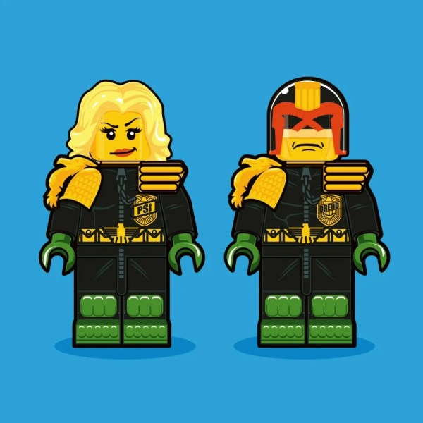Iconic Characters 1980s Reimagined Lego