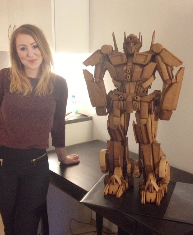 autobot gingerbread 620x754