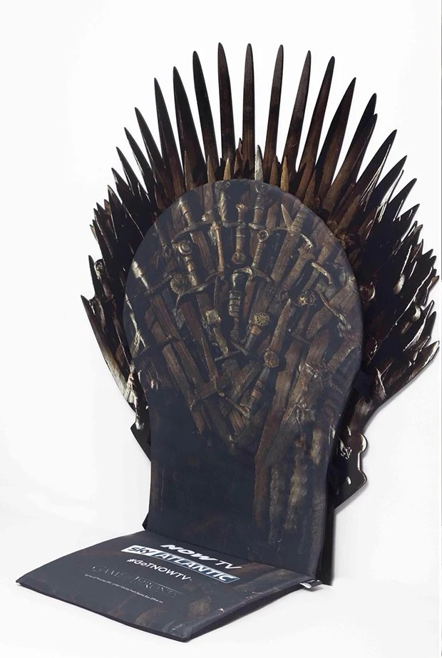 game of thrones office chair buy inexpensive covers transform any into the iron throne swords 2 zoom in