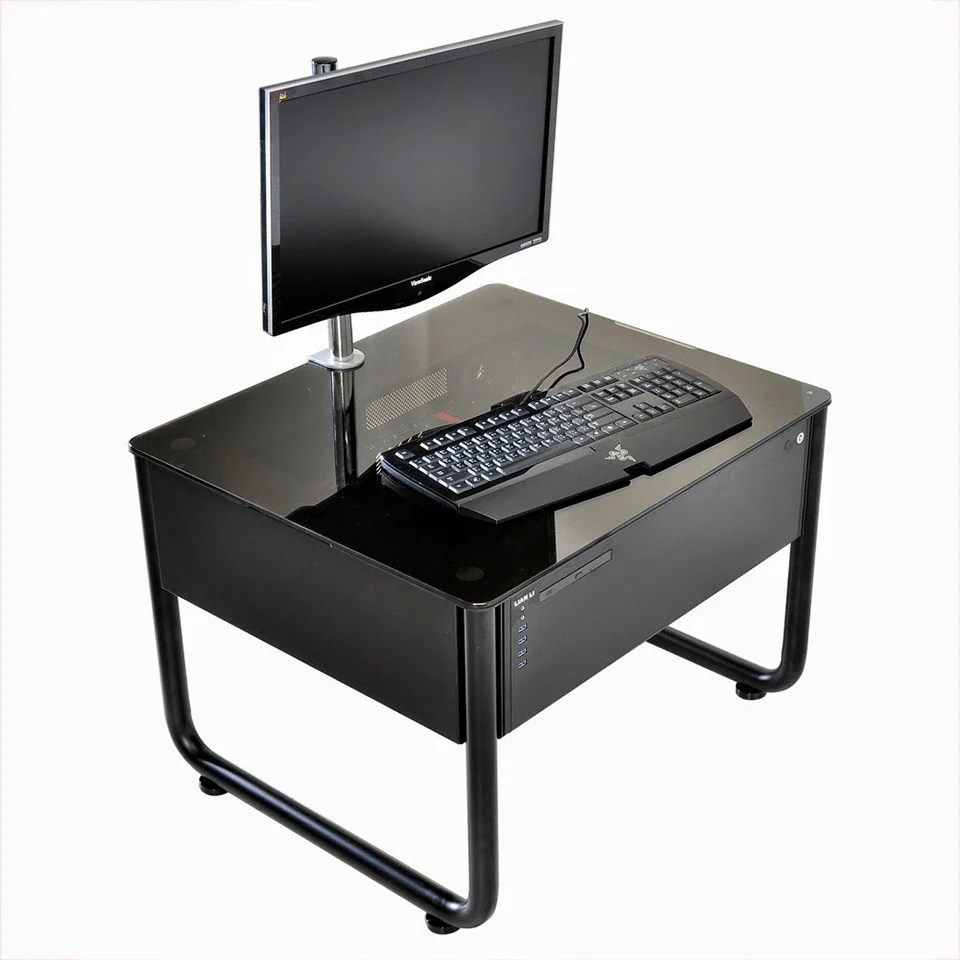 LianLi Desk PC Cases Finalized Augmented Furniture