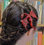 dragon hair clips song of lice